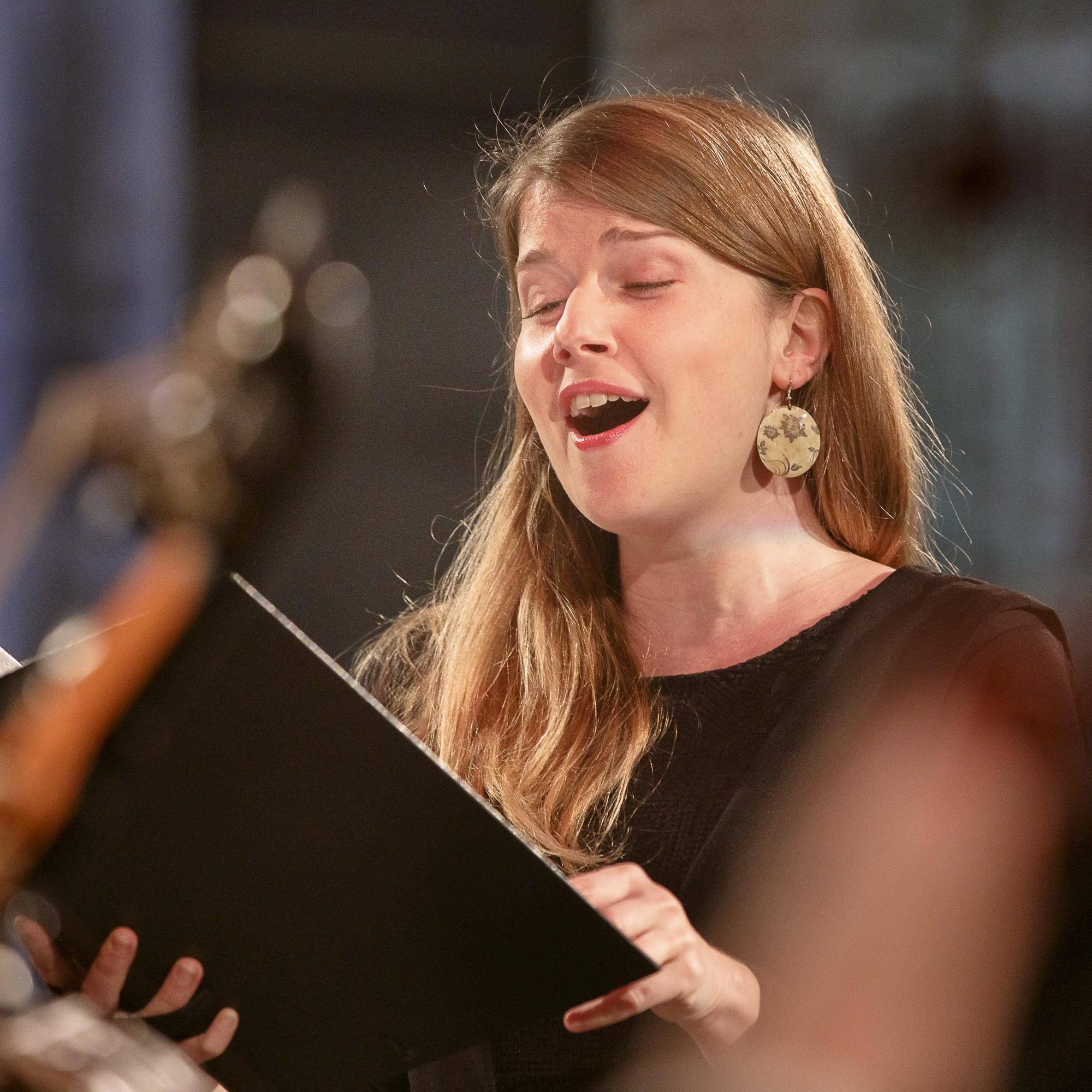 Caroline Arnaud chantant Jesu meine freude
