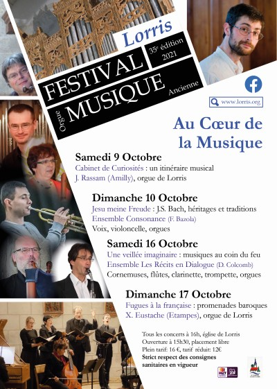 Festival d'orgue et de Musique ancienne de Lorris 2021